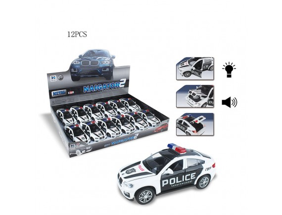 "Машинка метал ""Police Challenger 2"" C121-H65012"