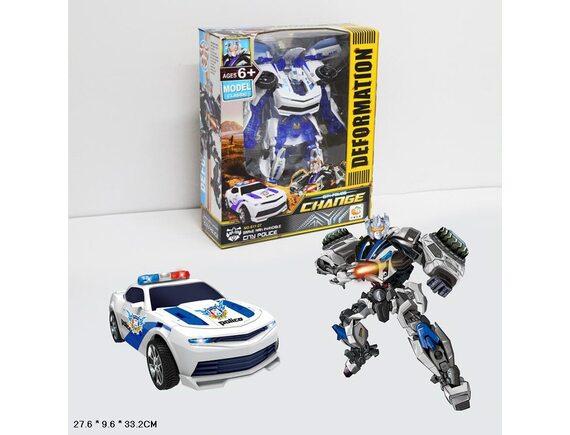 """Набор машинка трансформер """"Police Change"""" D019-H65018"""