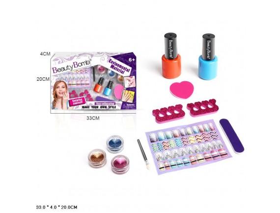 """Игровой набор для ногтей """"Beauty Bomb"""" Z851-H40193"""