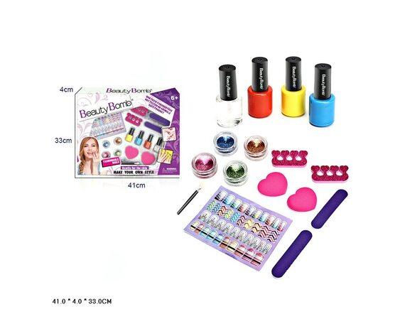 """Игровой набор для ногтей """"Beauty Bomb"""" Z851-H40195"""