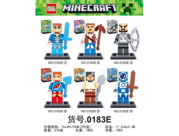 Конструктор PIN BA Minecraft 0183E