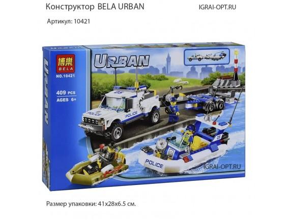 Конструктор BELA URBAN Полицейский патруль 10421