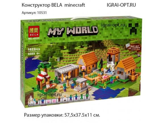 Конструктор BELA Большая деревня 10531