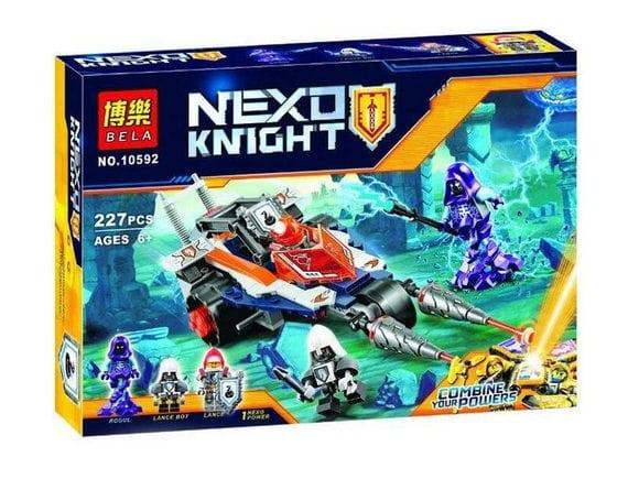 Конструктор Bela Nexo Knights «Турнирная машина Ланса» 10592