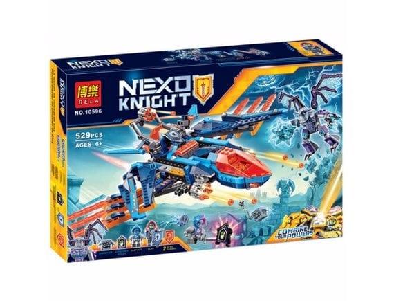 Конструктор BELA Nexo Knight «Сокол Клэя» 10596