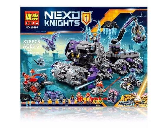 Конструктор BELA Nexo Knight «Штурмовой разрушитель Джестро» 10597