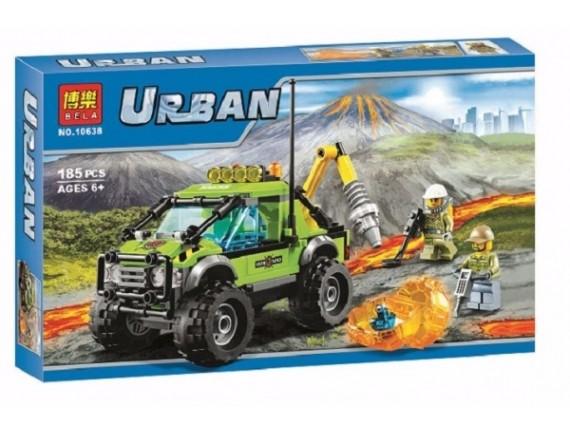 Конструктор BELA Urban «Грузовик исследователей вулканов» 10638