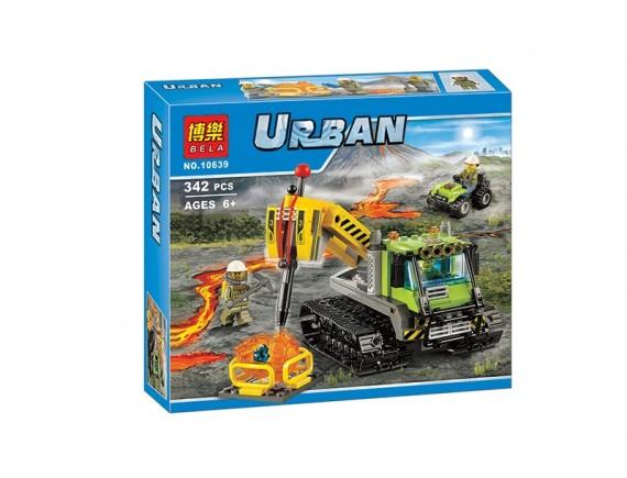 Конструктор Bela Urban «Вездеход исследователей вулканов» 10639