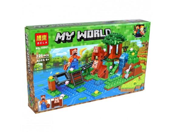 """Конструктор LARI(BELA) My World """"Тренировка"""" 10961"""
