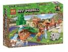 Конструктор BELA Minecraft Сокровищница в лесу у водопада 11130 - выбрать в ИГРАЙ-ОПТ - магазин игрушек по оптовым ценам - 1
