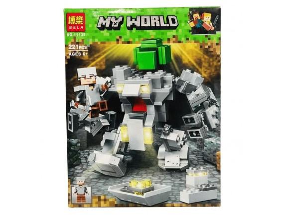 Конструктор BELA Minecraft Робот Титан 11135