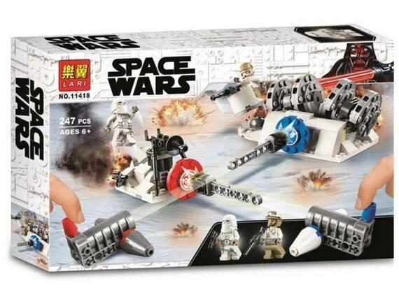 Конструктор LARI(BELA) Star Wars Разрушение генераторов на Хоте 11418