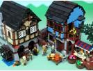 Конструктор LEPIN Средневековый рынок 16011