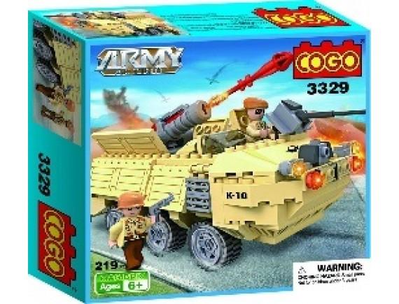 Конструктор «Военная машина» 3329