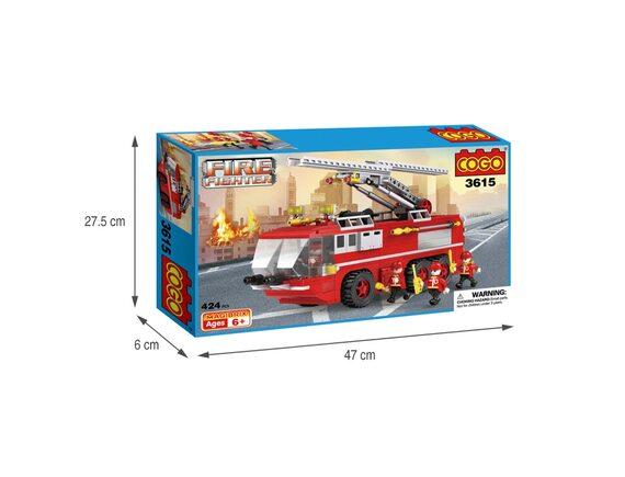 COGO Конструктор «Пожарная машина» 3615