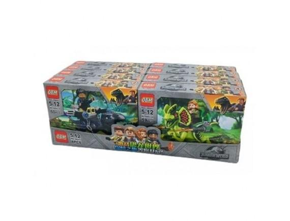 Конструктор  OBM My World 4 вида по 8 шт 99643 - приобрести в ИГРАЙ-ОПТ - магазин игрушек по оптовым ценам