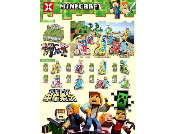 Конструктор 8 в 1 Minecraft 16шт XY18012B