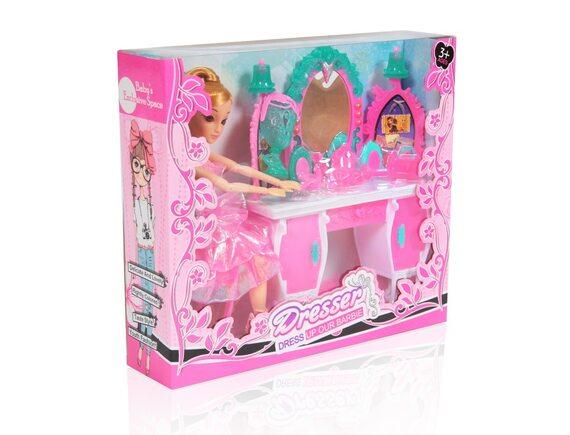 Набор кукла с мебелью и аксессуарами 1303B