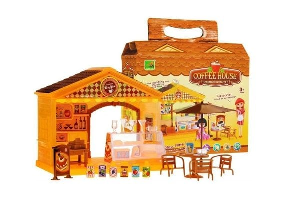 Игровой набор «Кафе» со светом и звуком 2355-1
