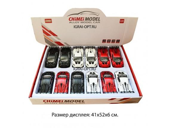 Машинка металл 1:32 Lamborghini свет и звук M322