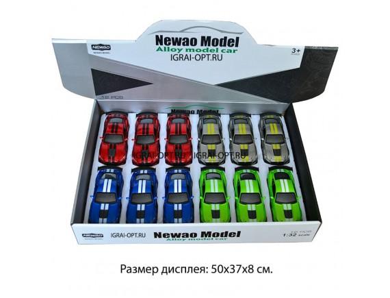 Машинка 1:32 инерционная металлическая 16см XA3226B