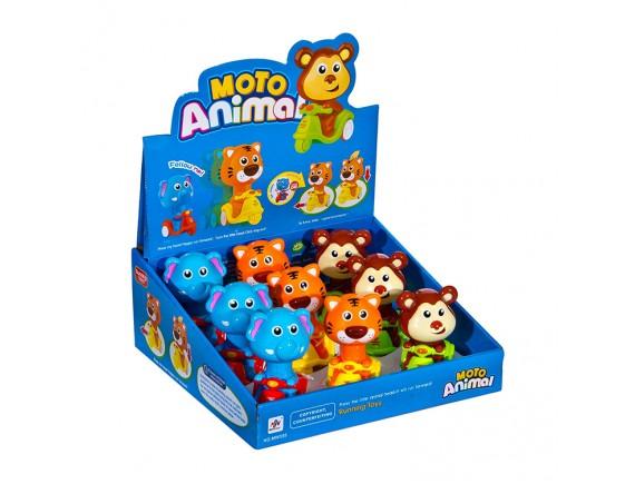 """Заводная игрушка-погремушка. """"Животные"""" (цена за уп.) 555-1"""