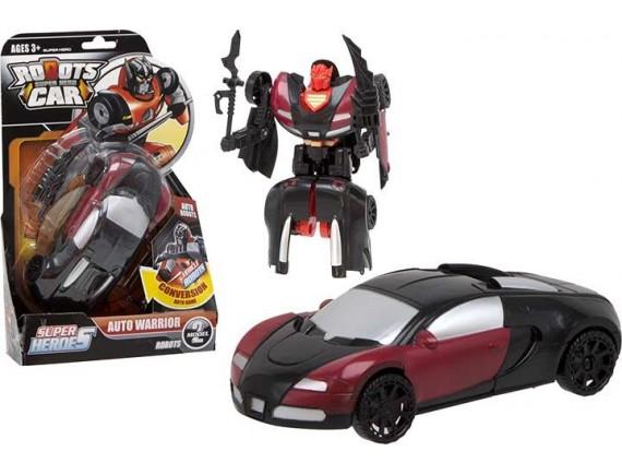 Машинка трансформер Супер Герои Robots Car 100039983