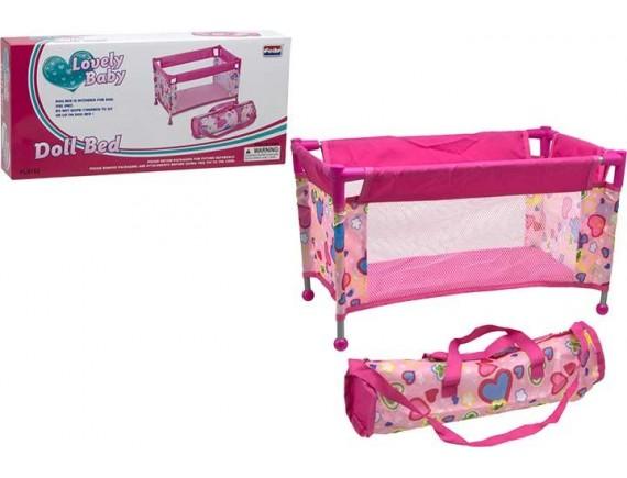 Кукольный манеж для пупса в коробке 100195046