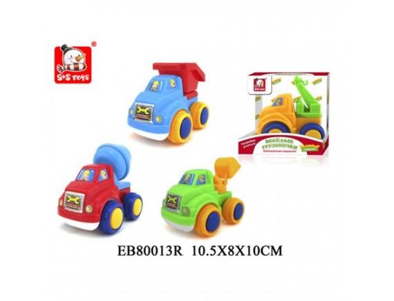 Машинка Веселые Грузовички для самых маленьких 100597084