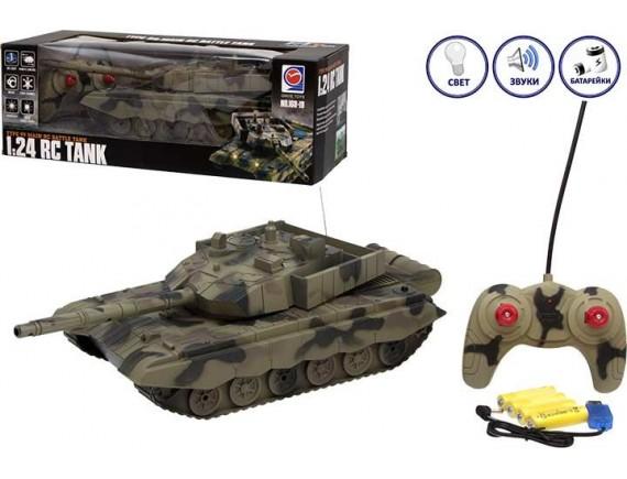 Радиоуправляемый танк с пультом 100721889