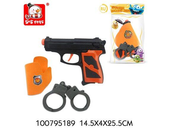"""Игрушка """"Пистолет"""" 100795189 - приобрести в ИГРАЙ-ОПТ - магазин игрушек по оптовым ценам"""