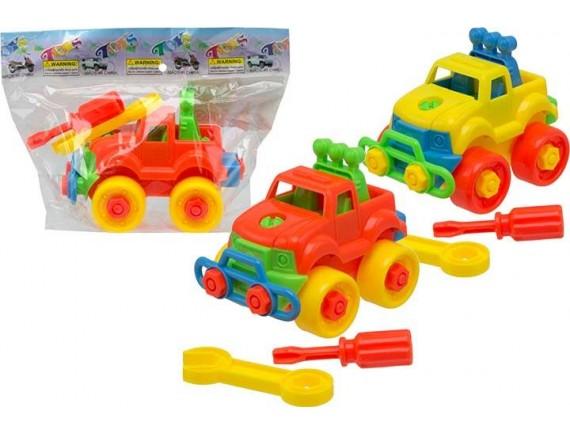 Машинка конструктор в пакете 100833651
