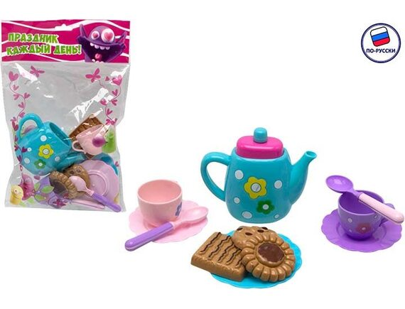 Игровой набор посудки Чайный сервиз 100858372