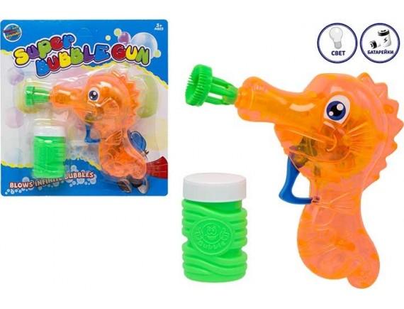 Набор для мыльных пузырей Super Buble Gun 100869654