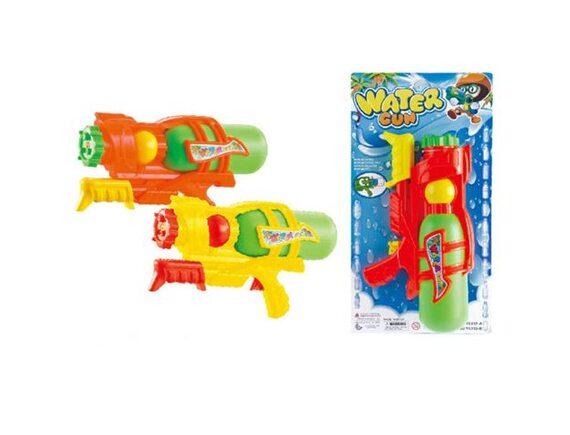Детский помповый пистолет 25см в пакете 100948405