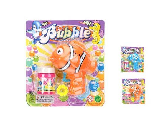 Механическая рыбка для выдувания мыльных пузырей 100978899 - приобрести в ИГРАЙ-ОПТ - магазин игрушек по оптовым ценам