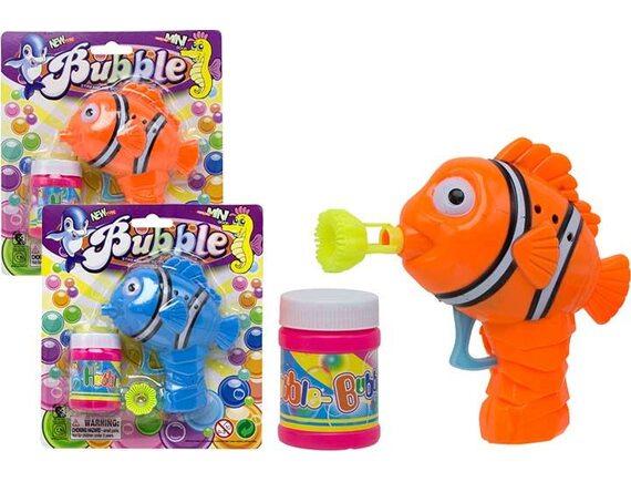 Механическая рыбка для выдувания мыльных пузырей 100978899
