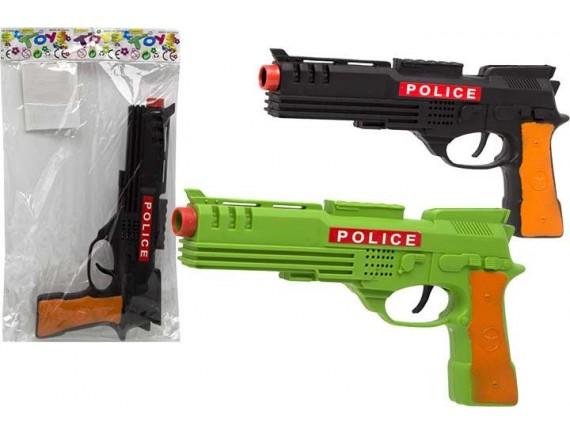 Игрушка Пистолет игрушечный, в пакете 101009837 - приобрести в ИГРАЙ-ОПТ - магазин игрушек по оптовым ценам