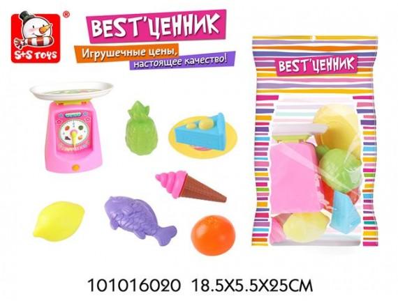Игровой набор Магазин Продуктов с весами 101016020