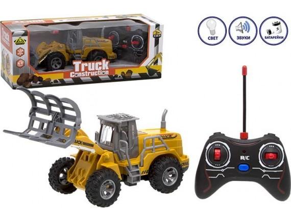 Машинка Спецтехника Construction Truck с пультом управления 1201123