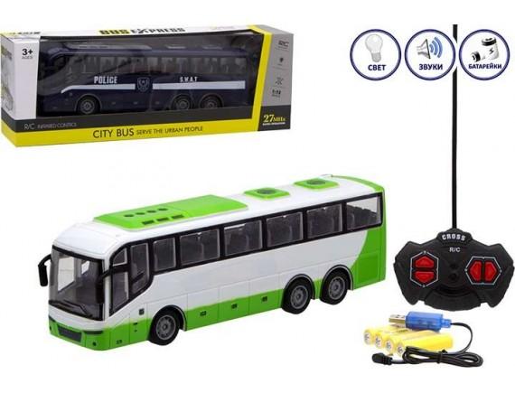 Детский автобус City Bus на радиоуправлении с аккумуляторами 1201757
