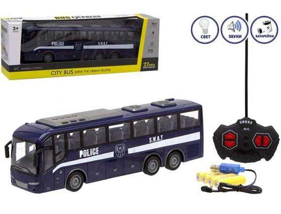 Детский автобус Police SWAT на радиоуправлении с аккумуляторами 1201758