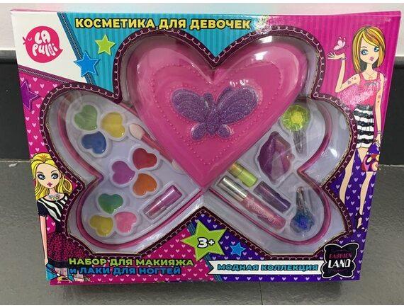 Набор детской декоративной косметики TM LAPULLI KIDS 121004
