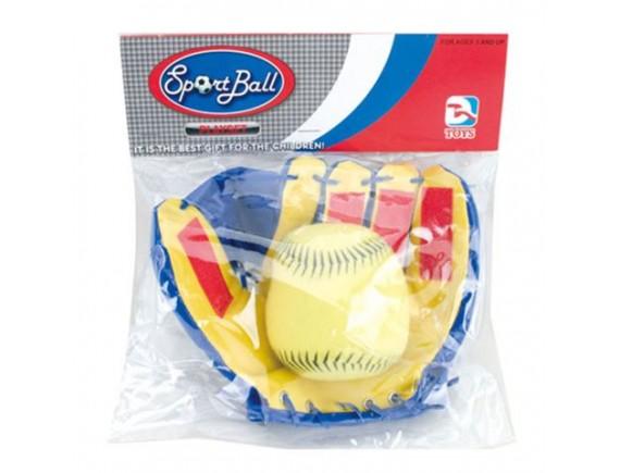 Игровой набор Поймай Мяч с перчатками - мишенями липучками 200017436