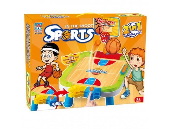 Настольный баскетбол Sports 2 в 1 200073689