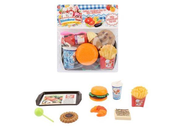 Игровой набор Гамбургер в пакете 200084085 - приобрести в ИГРАЙ-ОПТ - магазин игрушек по оптовым ценам
