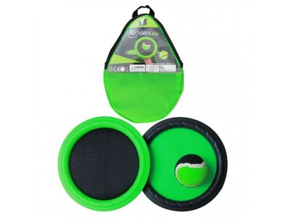 Игровой набор Поймай Мяч с тарелками - мишенями липучками в чехле 200148910