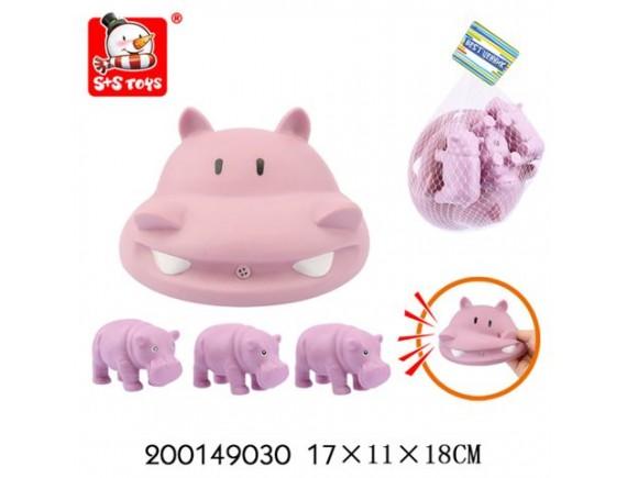 Набор животных с пищалкой в сетке 200149030