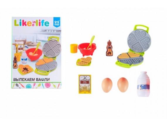 Игрушечная вафельница Like in Life в наборе в пакете 200152146
