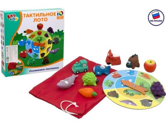 Настольная игра Тактильное лото Бамбини 200171458